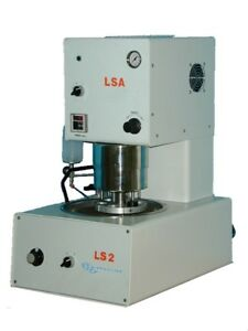 Lapmaster Ls2 lsa Auto Polisher With Central Force Pressure 8 Aluminum Wheel