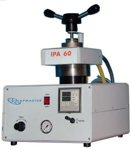 Lapmaster Ipa Automatic Mounting Press With 1 25 Mold Cylinder
