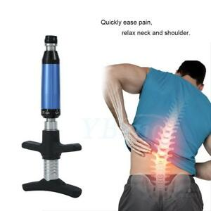6 Levels Chiropractic Instrument Spine Activator Back Adjusting Tool Portable Us