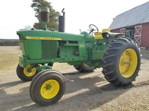 John Deere 4020 Console Diesel 1972 Last Year Production