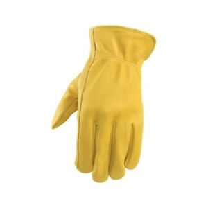 Wells Lamont Yellow Men s Extra Large Leather Driver Gloves