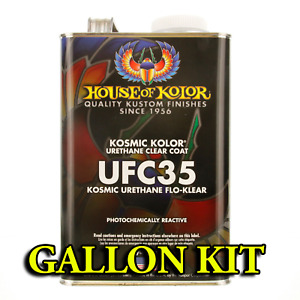 House Of Kolor Ufc35 Flo Klear 1 Gallon Kit