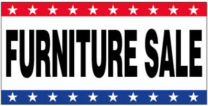Furniture Sale Vinyl Banner 3x8 Ft Sign New Usa Wb