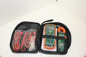 Extech True Rms Multimeter 430 Clamp Kit W lcd Display Electrical Test Equipment