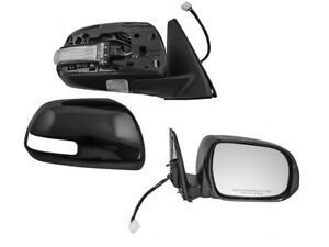 For 2010 2013 Toyota 4runner Power Heat Signal Puddle Light Right Side Mirror