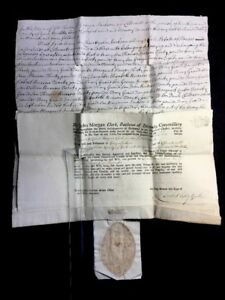 Paper Manuscript 1767 Probate Of The Will