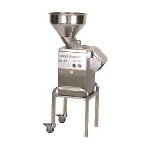 Robot Coupe Cl55 Bulk Series D 3 Hp Heavy Duty Food Processor