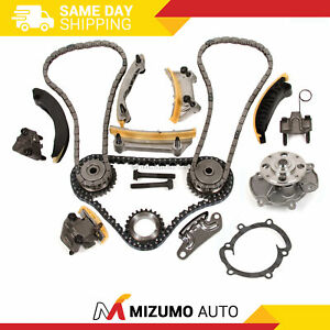 Timing Chain Kit Water Pump Fit 04 06 Buick Cadillac Srx Sts Cts Saab Suzuki 3 6