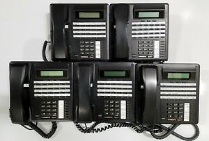 Lot Of 5 Comdial Impact 8324sj fb 24 button Lcd Digital Office Phones