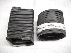 Nos 52 53 54 55 56 57 Ford T Bird Thunderbird Heater Duct Hose Set 18584 18489