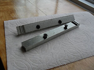 Craftsman Vise Jaws Fits Fits Many Older Usa Models 6 1 2 Reversable Gray Vises