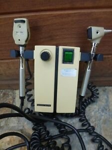Welch Allyn 74910 Otoscope Ophthalmoscope Wall Mount Transformer