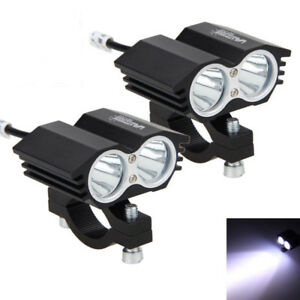 2pcs 30w 2x Xm T6 Led Motorcycle Boat Spot Driving Headlight Fog Light Lamp