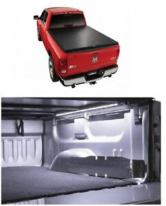 Truxedo Truxport Roll up Soft Tonneau Cover Access 12 Led Light For Ram 1500