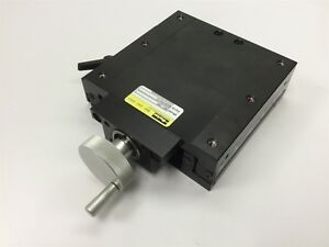 Parker 081 1280 Positioning Stage Travel 4 Stage Dimensions 6 X 6