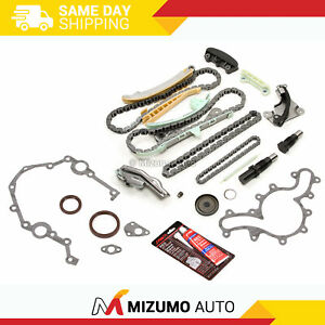 Timing Chain Kit W O Gears Timing Cover Gasket Fit 97 06 Ford Mazda Mercury 4 0l