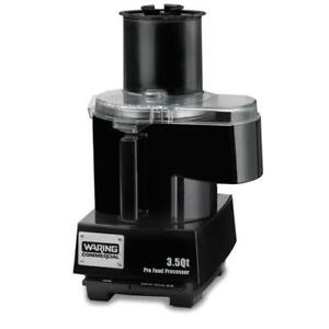 Waring Wfp14sc Food Processor W 3 5 Qt Bowl Continuous Feed