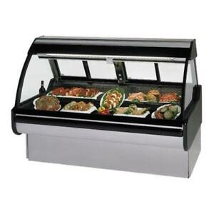 Federal Mcg 454 dm Curved Glass 48 Red Meat Maxi Deli Case