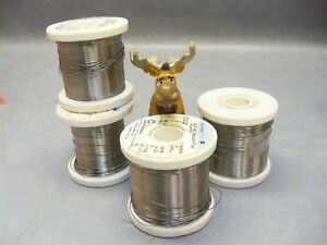 Solder Wire 020 025 63sn pb37 Alpha Telecore No Clean 3 Pounds