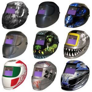 Carrera Arcone Welding Helmet With Auto Darkening 4500v Filter Welding Mask