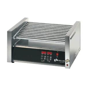 Star 50ce Grill max Electronic 50 Hot Dog Roller Grill