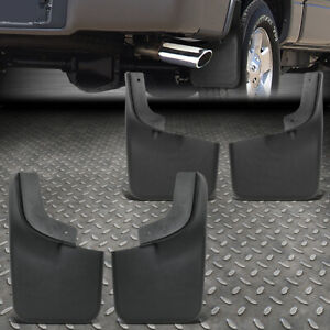 For 04 14 Ford F150 W Oe Fender Flares Front Rear Wheel Mud Guard Splash Flaps