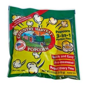 Country Harvest Popcorn Portion Packs For 4 ounce Machine case Of 24