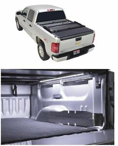 Truxedo Deuce Black Vinyl Tonneau Cover Access 12 Light For Silverado 1500