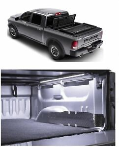 Truxedo Black Deuce Tonneau Cover Access 60 Led Light For Dodge Ram 1500 2500