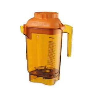 Vitamix 58990 Colored Advance 48 Oz Orange Blender Container