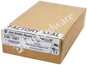 New Sealed Allen bradley 2100 enet a Lv Mcc 2100 E3 Plus Enet ip Adapter Kit