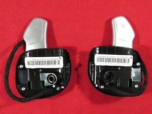 Dodge Chrysler Jeep Left Right Steering Wheel Paddle Shifter Set New Oem Mopar