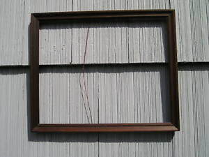 Simple Antique Art Crafts Mission Style Picture Frame Great Patina 12 X 15