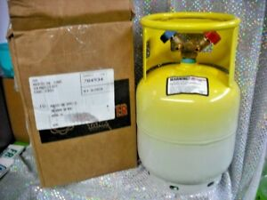 Refrigerant Recovery Tank Hard To Find Rare 15 Lb New Retest Date 05 2022