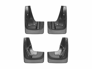 Weathertech No drill Custom Mud Flaps For Subaru Forester 2014 2018 Full Set