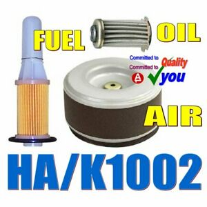 Air Oil Fuel Filter Kit Gd320 Gd411 Gd410 Honda Diesel Engine Service Ha k1002