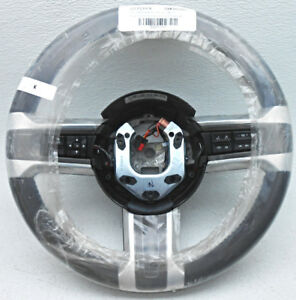 Oem Ford Mustang Steering Wheel Gray Leather W Blue Stitching Dr33 3600d Dd