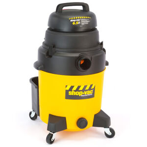 Shop vac 9252910 10 gallon 6 1 2 hp Single stage Industrial Wet Dry Vacuum