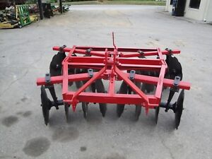 Very Nice Tuffline 3 Point Hitch 16 Disc Disc Harrow