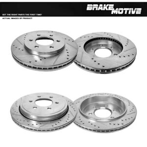For 2002 2003 2004 2005 2006 Ford Expedition Lincoln Navigator Front rear Rotors