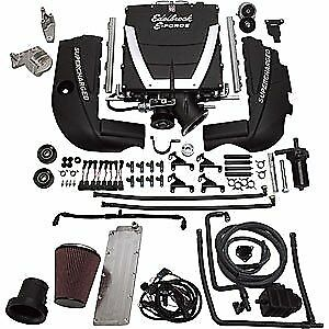 Edelbrock 15490 E force Universal Supercharger Kit Gen Iv Ls7 Engine Ls7 Cylinde