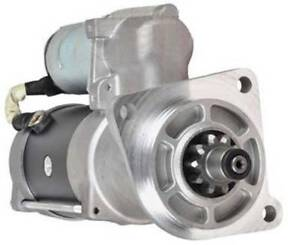 New 10t Starter Motor Fits Case Compact Track Loader 440 Ct 40mm Gear 87366159
