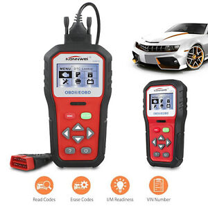 Kw818 Obdii Obd2 Eobd Car Automotive Erase reset Fault Codes Diagnostic Scanner