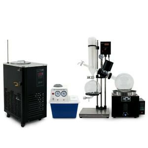 Usa Lab 5l Rotary Evaporator Turnkey Setup Rotovap Re 501