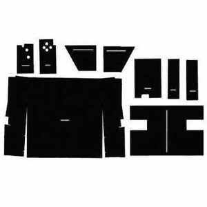 Cab Foam Kit Less Headliner International 1086 886 1586 Hydro 186 1486 986