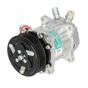 Air Conditioning Compressor Sanden New Holland Ford 7840 7740 5640 8340 6640
