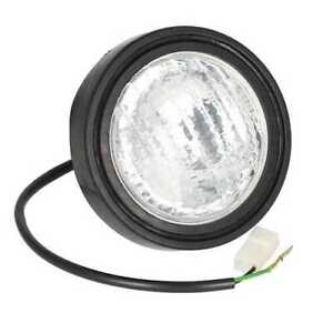 Headlight Assembly 12v Halogen Round Compatible With Minneapolis Moline