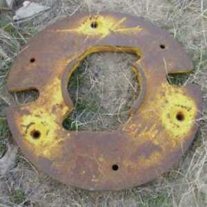 Used Rear Wheel Weight Compatible With John Deere 2355 2020 2030 2555 2350 2040