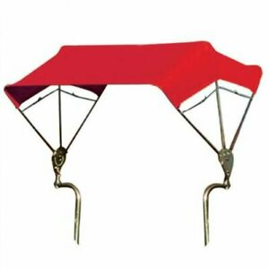 Snowco 3 bow Tractor Canopy With Frame Fender Mount 48 Red