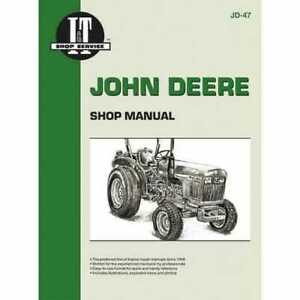 I t Shop Manual John Deere 850 850 950 950 1050 1050